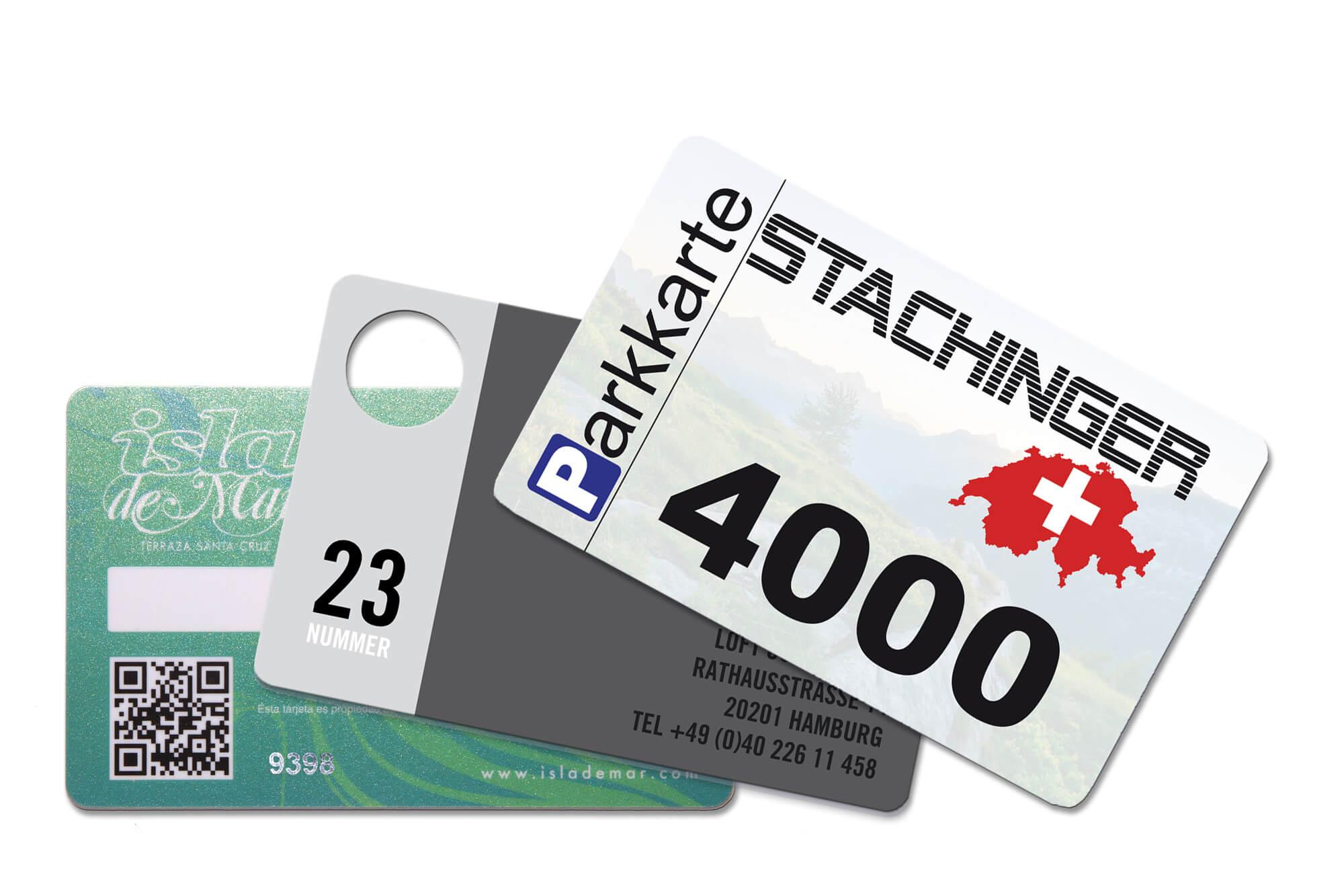 Personalisierung gedruckt auf PVC-Plastikkarten