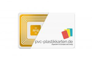 RFID-Karten von PVC-Plastikkarten angeschnitten