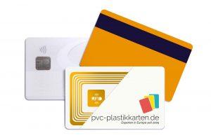 Zugangskontrollkarten Chipkarte RFID, Magnetkarte