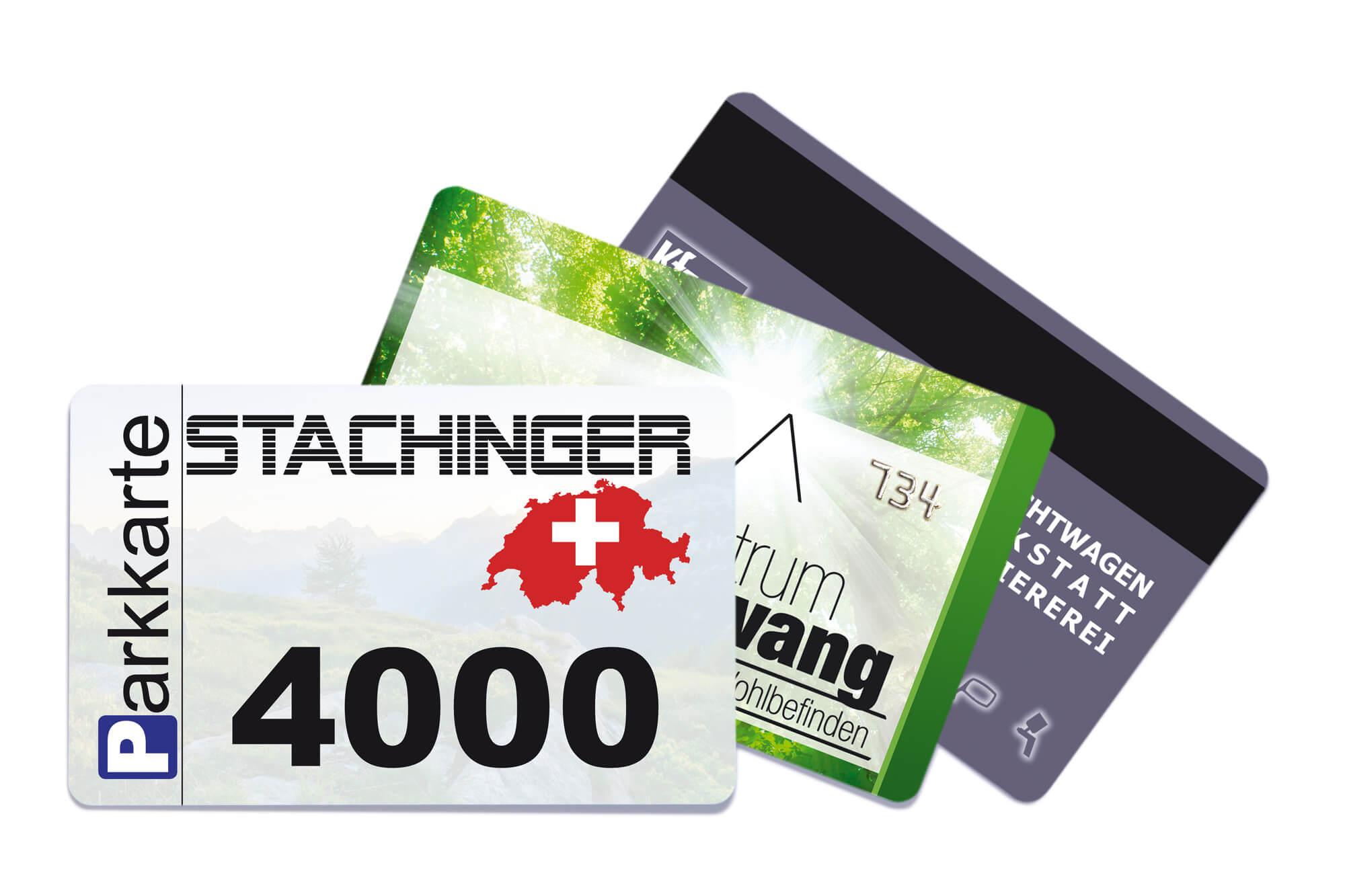 Zugangskontrollkarten Fächer RFID, Magnetkarte