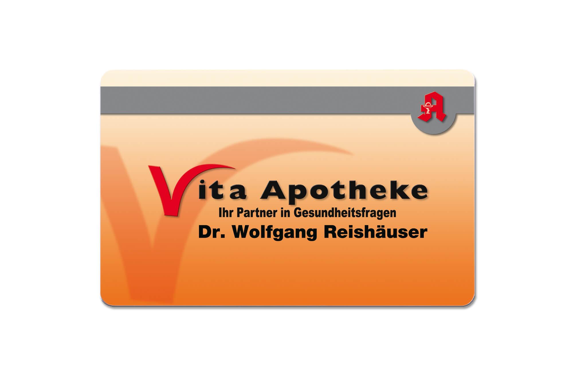 Kundenkarte für die Vita Apotheke