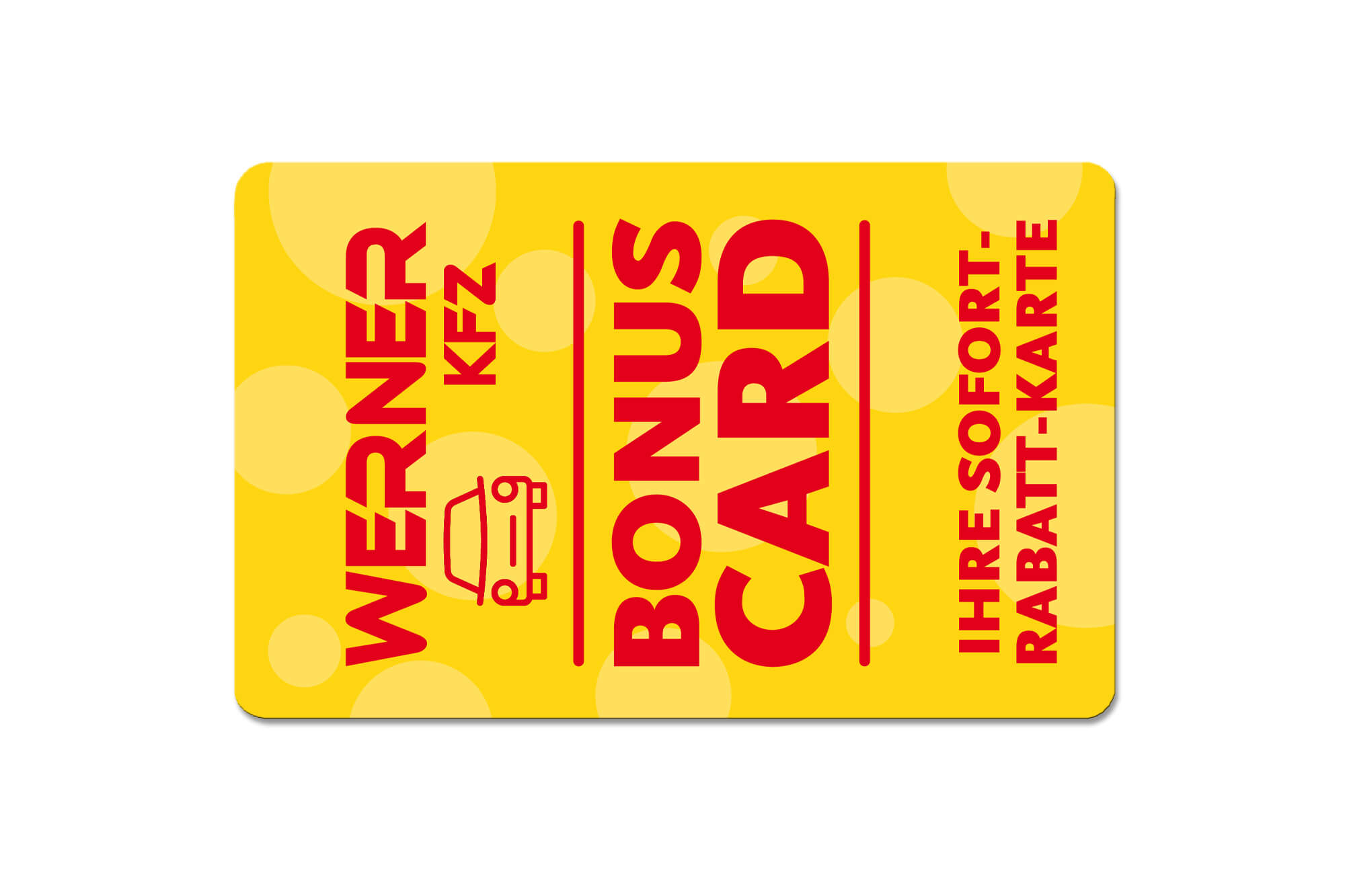 Bonuscard Werner KFZ