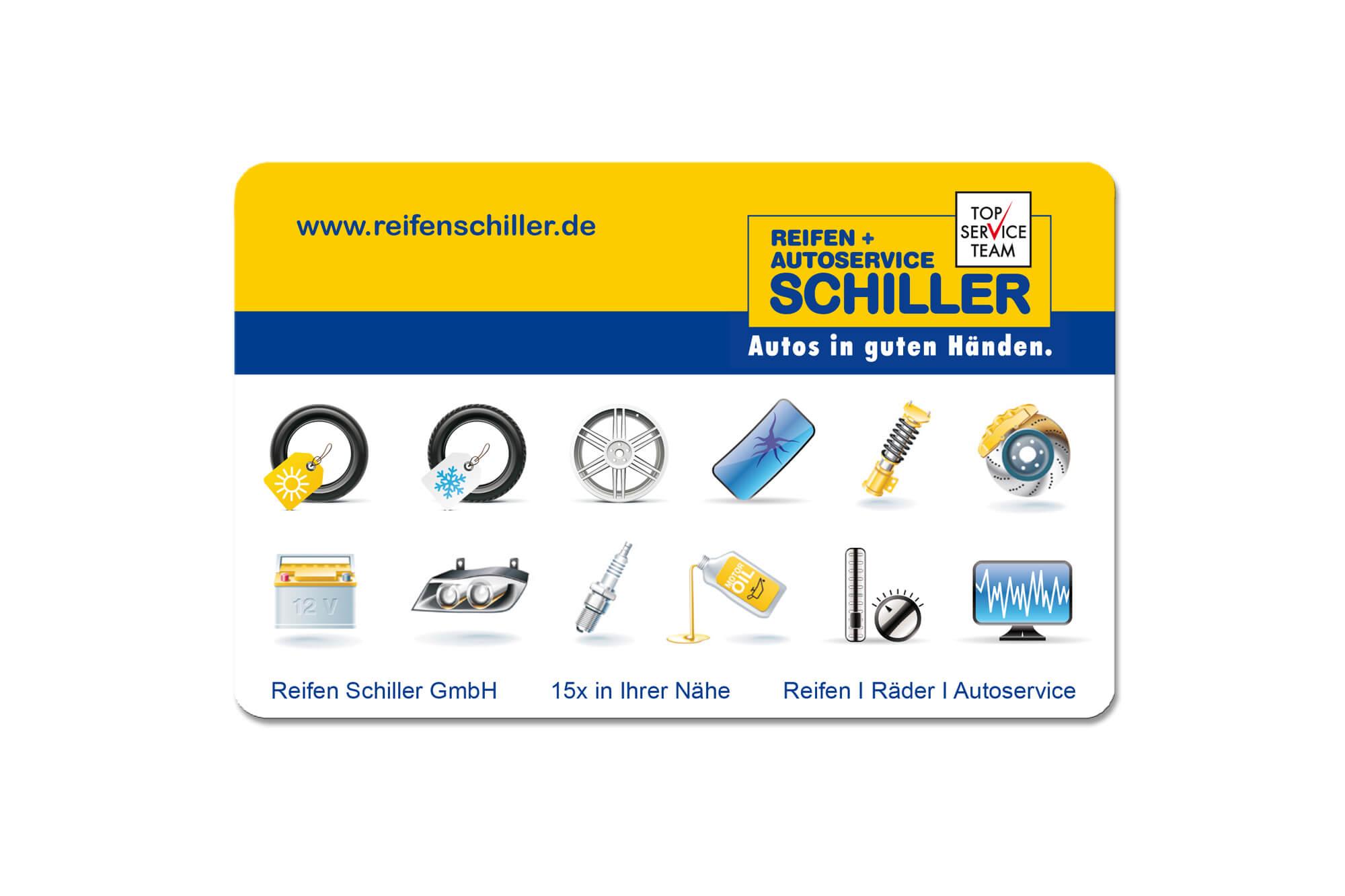 Rabattkarte Reifen Schiller