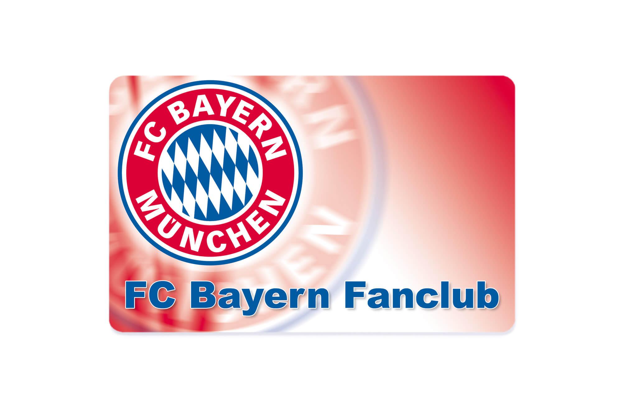 FC Bayern Fanclub-Karte