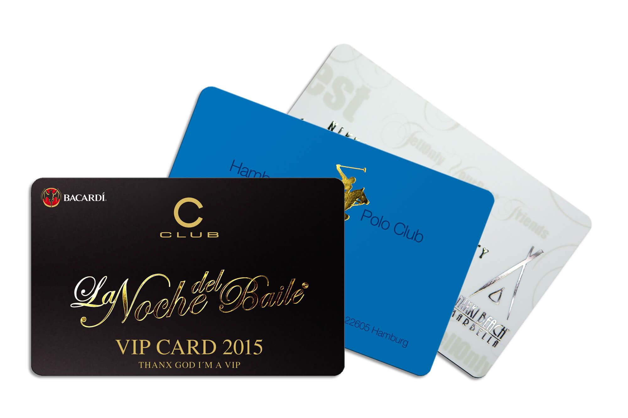 PVC-Karten Hotstamping Fächer